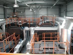 Biomasse Heizkraftwerk Innenansicht 293x220