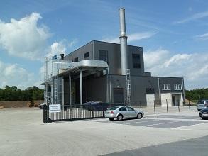 Biomasse Heizkraftwerk Wiesmoor Außenansicht 293x220