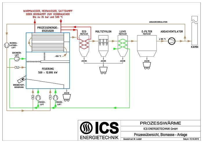 Biomasse Prozessenergie Prozessübersicht 700x494