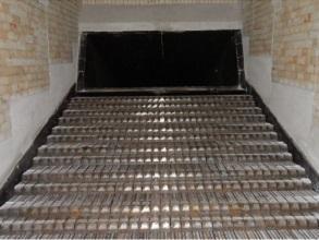 Biomasse Prozesswärme Feuerung Rost mit Schamott 293x220