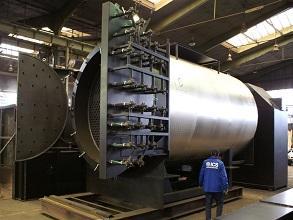 Biomasse Prozesswärme Warmwasserkessel 293x220