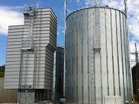 Biomasse Referenzen Tschiggerl Trockner mit Silo 200x150