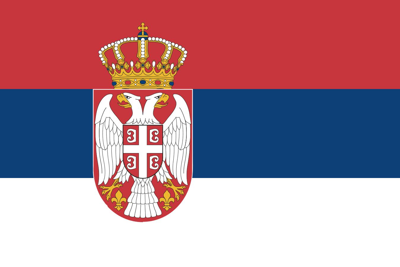 Flag of Serbia svg