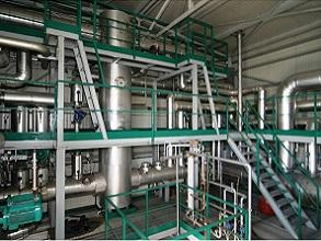 Biomass process heating piping 293x220